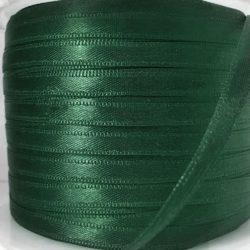 Double Faced Satin Ribbon Bottle Green 200m - William Gee