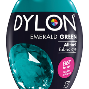 Dylon Fabric Dye Machine Pods - Emerald Green - William Gee