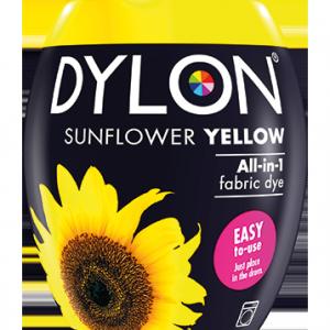 Dylon Fabric Dye Machine Pods - Sunflower Yellow - William Gee