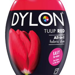 Dylon Fabric Dye Machine Pods - Tulip Red - William Gee