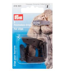 Prym Fur Clips Brown 416502 - William Gee UK