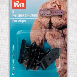 Prym Fur Clips - Black 416502 - William Gee