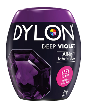 Dylon Fabric Dye Machine Pods - Deep Violet - William Gee