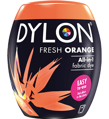 Dylon Fabric Dye Machine Pods - Fresh Orange - William Gee