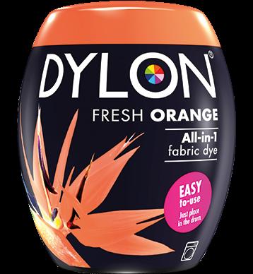 Dylon Fabric Dye Machine Pods - Fresh Orange - William Gee