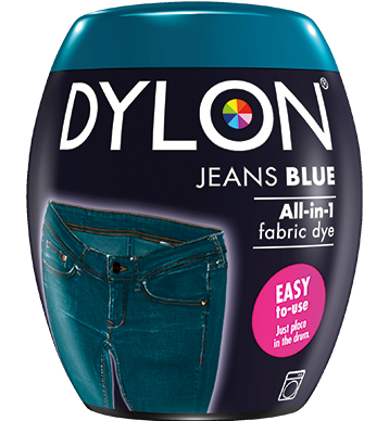 Dylon Fabric Dye Machine Pods - Jeans Blue - William Gee