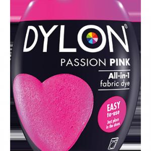 Dylon Fabric Dye Machine Pods - Passion Pink - William Gee