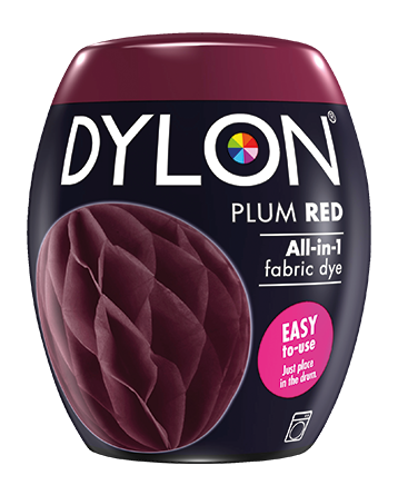 Dylon Fabric Dye Machine Pods - Plum Red - William Gee