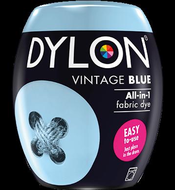 Dylon Fabric Dye Machine Pods - Vintage Blue - William Gee