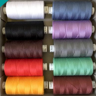 Pot Luck Moon 120 Sewing Threads - Random Colours - William Gee Haberdashery