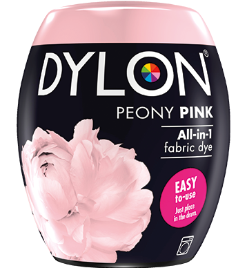 Dylon Fabric Dye Machine Pods - Peony Pink - William Gee