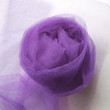Nylon Dress Net in Purple - William Gee