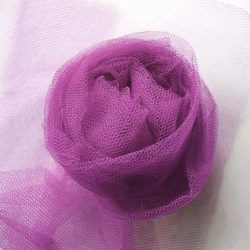 Nylon Dress Net in Victoria Rose - William Gee