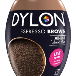 Dylon Fabric Dye Machine Pods - Espresso Brown - William Gee
