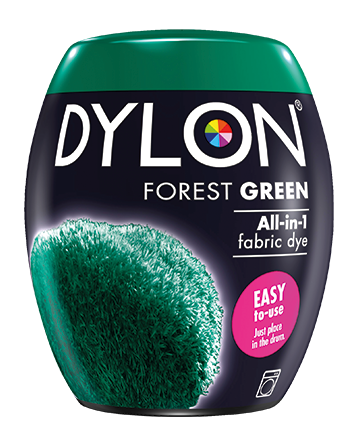 Dylon Fabric Dye Machine Pods - Forest Green - William Gee