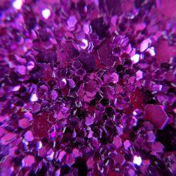 Glitter Fabric in Fuchsia GLJ388 - William Gee