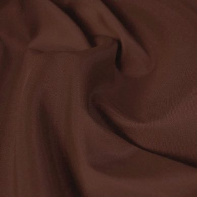 Nylon taffeta in rust colour - William Gee