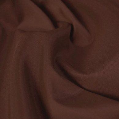 Nylon taffeta in rust colour - William Gee