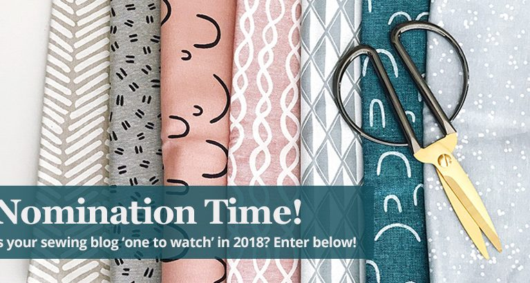 Nominations Open for Best Sewing Blogs to Follow in 2018!