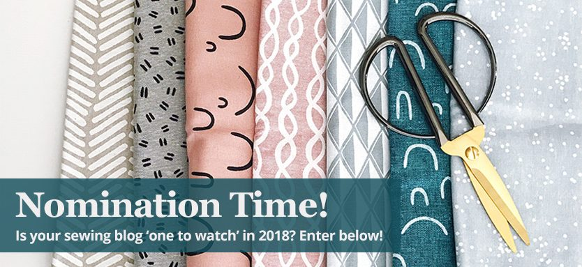 Nominate your favourite sewing blog in 2018 - William Gee