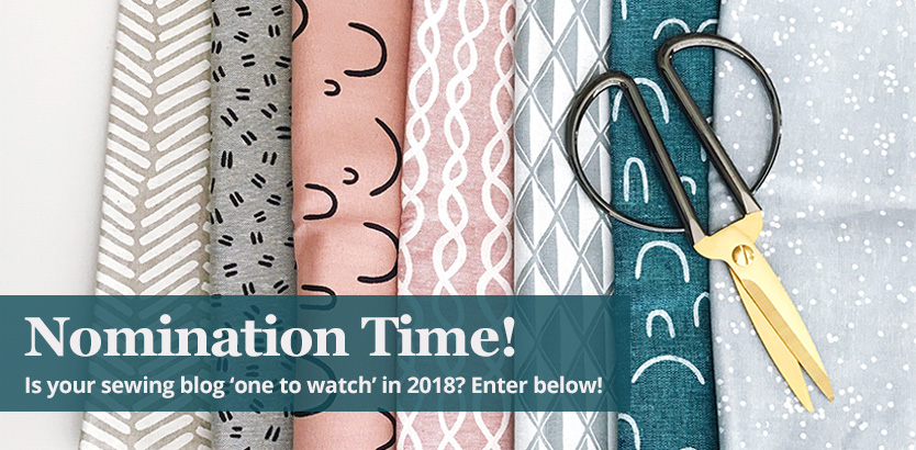 Nominations Open for Best Sewing Blogs to Follow in 2018! | William ...