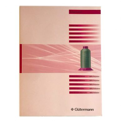 Gutermann E382 Shade Card - William Gee