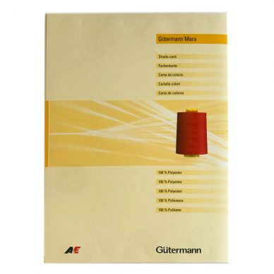Gutermann Mara Shade Card - William Gee