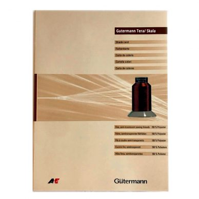 Gutermann Skala Shade Card - William Gee