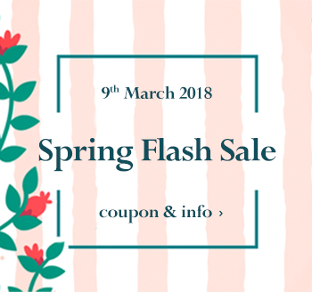 March 9th William Gee Flash Sale Online