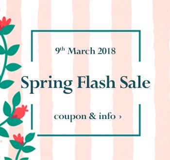 March 9th William Gee Flash Sale Online