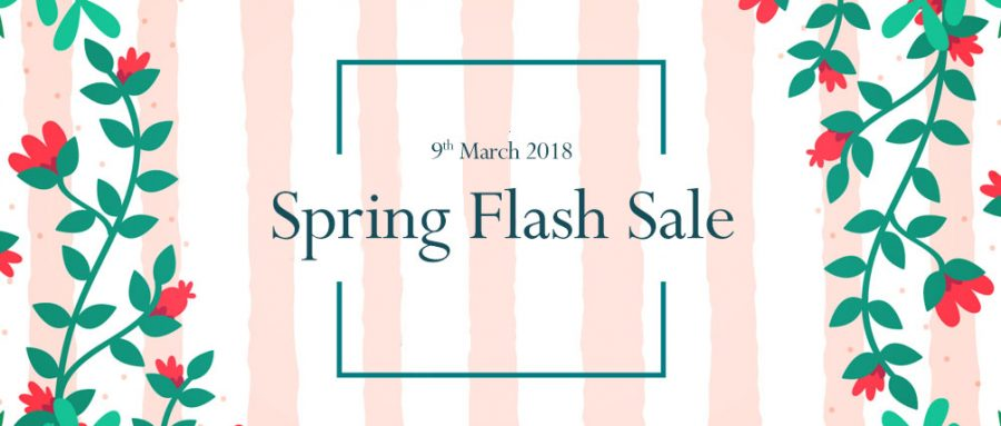 spring flash sale 2018