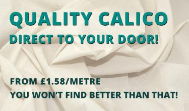 Calico direct to your door - William Gee UK