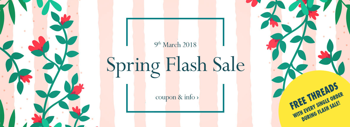 William Gee Spring flash sale 2018