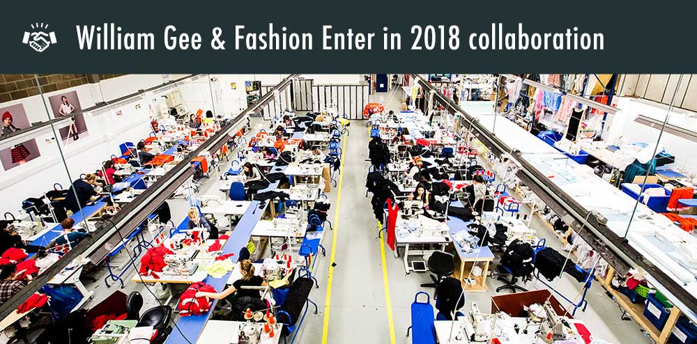 William Gee and Fashion Enter in 2018 Collaboration