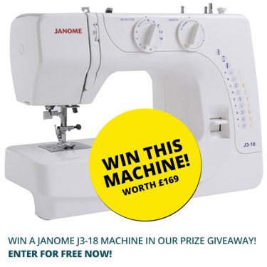 win this machine in our prize giveaway 2018 - William Gee