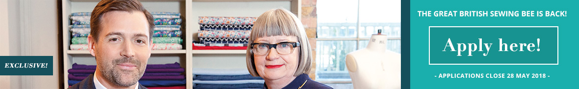 Apply here for the Great British Sewing Bee - William Gee
