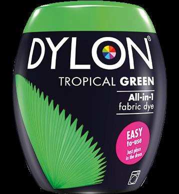 Dylon-Fabric-Dye-Machine-Pods-Tropical Green-William-Gee