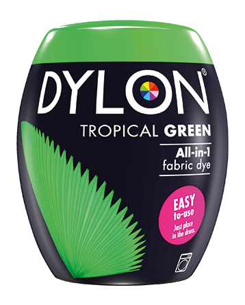 Dylon-Fabric-Dye-Machine-Pods-Tropical Green-William-Gee