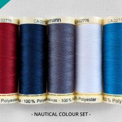 Pot Luck Gutermann Sew All Threads in Nautical Colours - William Gee Online