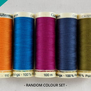 Pot Luck Gutermann Sew All Threads in Random Colours - WillIam Gee Online