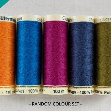 Pot Luck Gutermann Sew All Threads in Random Colours - WillIam Gee Online