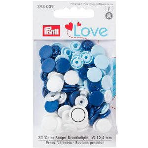Prym Colour Snaps Love Edition 393009 - William Gee UK