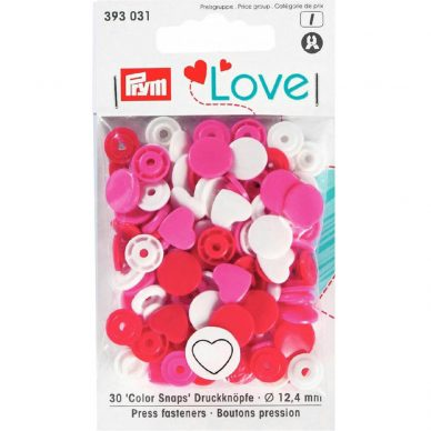 Prym Colour Snaps Love Edition 393031 - William Gee UK