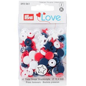 Prym Colour Snaps Love Edition 393061 - William Gee UK