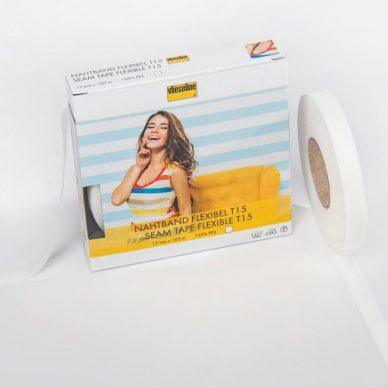 Seam Tape T15 in White - William Gee UK