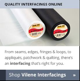 Buy Vilene Interfacings - William Gee