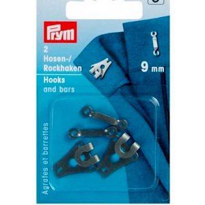 Prym Hook and Bars 9mm Black 265223 - William Gee UK