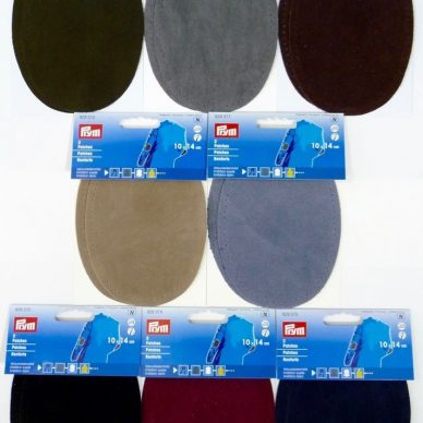 Prym Suede Iron On Patches - William Gee