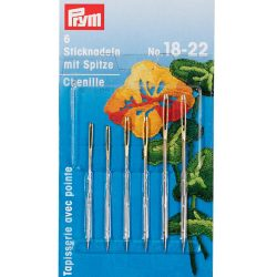 Prym Tapestry Chenille Embroidery needles No 24 - William Gee UK
