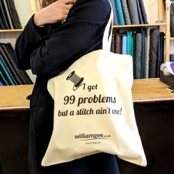 Cotton Tote Bag - William Gee